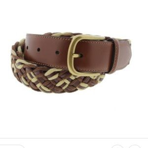 Other - Men's Tommy Bahama braided leather belt